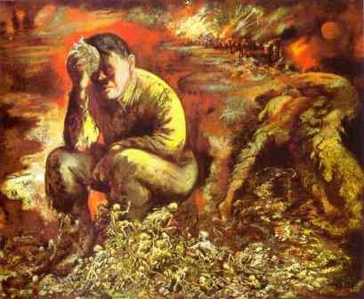 George Grosz: Kain, albo Hitler w piekle