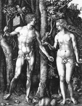 Adam i Ewa (miedzioryt)