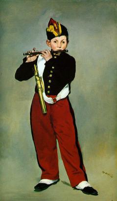 Chłopiec z piszczałką
