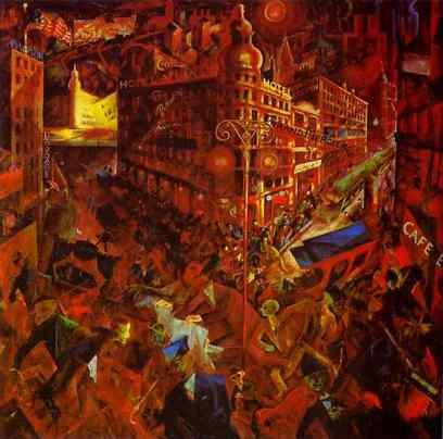 George Grosz: Miasto