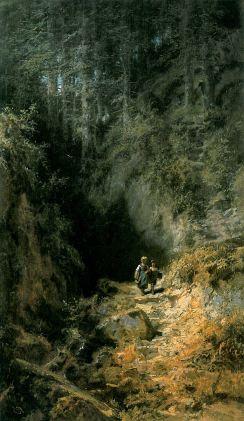 Carl Spitzweg: Dzieci w lesie