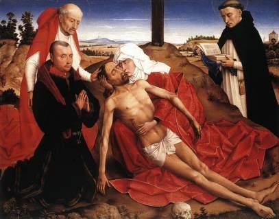 Roger van der Weyden: Pieta