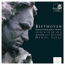 Ludwig van Beethoven: Sonaty na skrzypce i fortepian (okładka płyty)