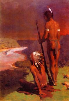 Thomas Anschutz - Indianie nad rzeką Ohio