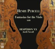 Henry Purcell - Fantazje na consort viol (okładka płyty)