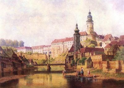 Bedrich Havránek - Czeski Krumlow