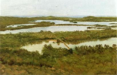 Albert Bierstadt - Ujście rzeki