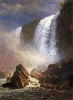 Albert Bierstadt - Niagara