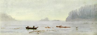 Albert Bierstadt - Rybacy indiańscy