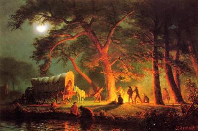 Albert Bierstadt - Podróż do Oregonu