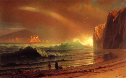 Albert Bierstadt - The Golden Gate