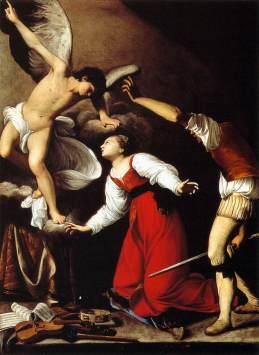 Carlo Saraceni: Męczeństwo św. Cecylii
