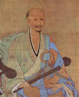 Portret mistrza czan Wu-chun (nieznany malarz, 1238)