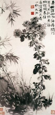 Xu Wei: Chryzantemy i bambusy