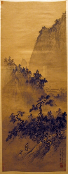 Dai Jin: Gęsta zieleń w wiosennych górach