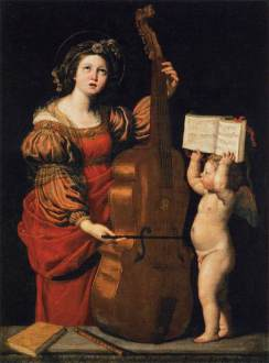 Domenichino: św. Cecylia