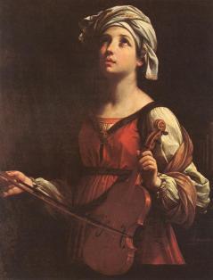 Guido Reni: św. Cecylia