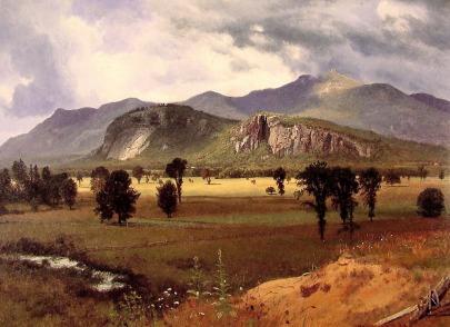 Albert Bierstadt - Moat Mountain w New Hampshire