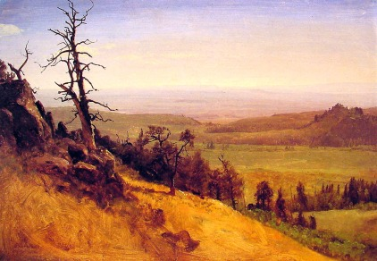 Albert Bierstadt - Wasatch Mountains w Nebrasce