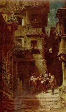 Carl Spitzweg: Serenada (II)