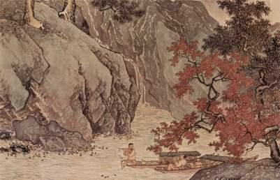T'ang Yin: Samotny rybak nad jesienną rzeką