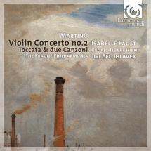Koncerty Bohuslava Martinu (okładka płyty)