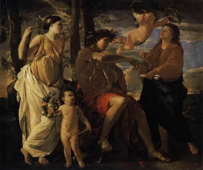 Nicolas Poussin: Natchnienie poety