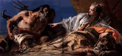 Giovanni Battista Tiepolo: Neptun przedkładający dary dla Wenecji
