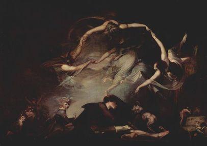 Johann Heinrich Füssli: Senny koszmar