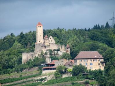 Zamek Hornberg nad Neckarem - siedziba historycznego Götza