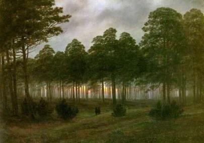 Caspar David Friedrich: Wieczór
