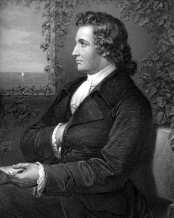 Johann Wolfgang Goethe w roku 1775