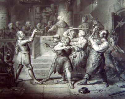 Götz von Berlichingen przed sądem w Heilbronn