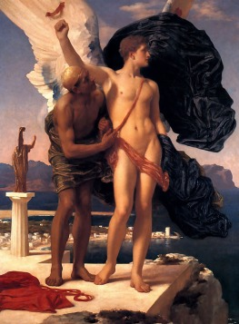 Frederick Leighton: Dedal i Ikar