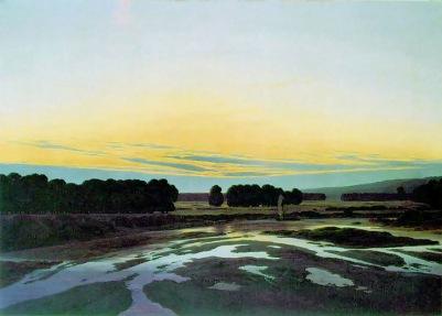 Caspar David Friedrich: Przestrzeń