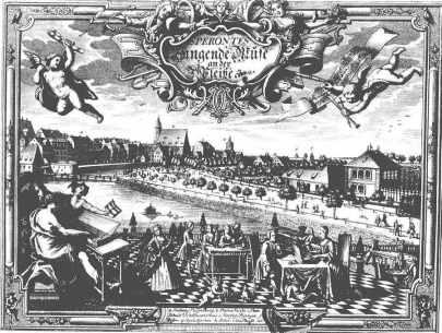 Alegoria Lipska 1736