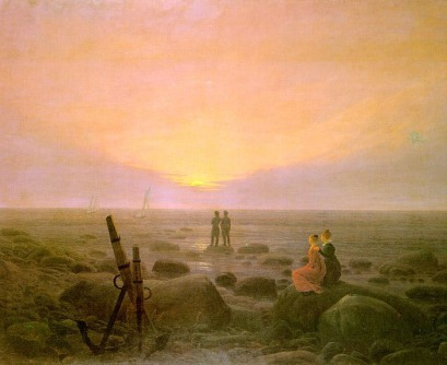Caspar David Friedrich: Wschód księżyca nad morzem