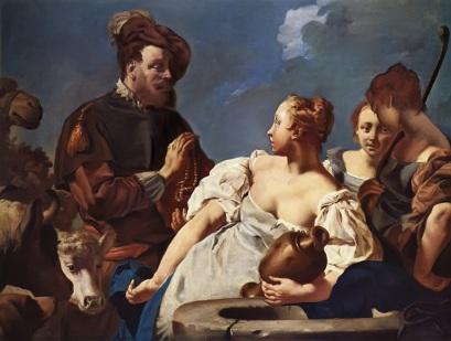 Giovanni Piazzetta: Rebeka przy studni