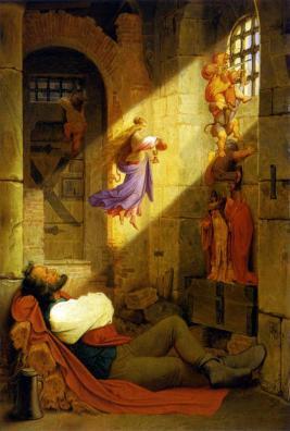 Moritz von Schwind: Sen więźnia