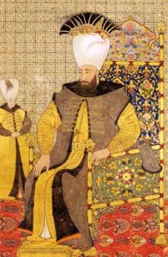 Sułtan Ahmed III wraz z następcą tronu