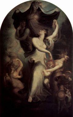 Johann Heinrich Füssli: Eufrozyna wobec Fantazji i Temperamentu