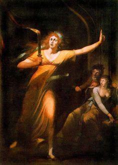 Johann Heinrich Füssli: Płomienna lady Makbet