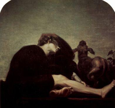 Johann Heinrich Füssli: Samotność o świcie