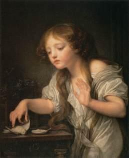 Jean Baptiste Greuze: Martwy ptaszek