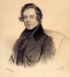 Robert Schumann w roku 1839