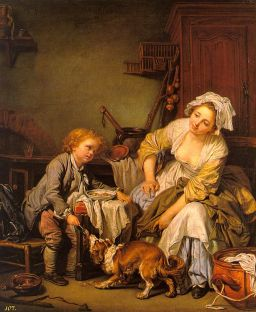 Jean Baptiste Greuze: Rozpieszczone dziecko