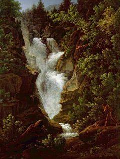 Joseph Anton Koch: Wodospad