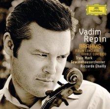 Johannes Brahms: Koncert na skrzypce i orkiestrę (okładka płyty)