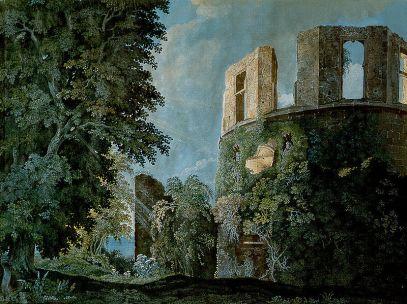 Carl Philipp Fohr: Wieża zamku w Heidelbergu