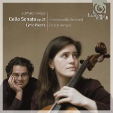 Edward Grieg: Sonata na wiolonczelę i fortepian (okładka płyty)